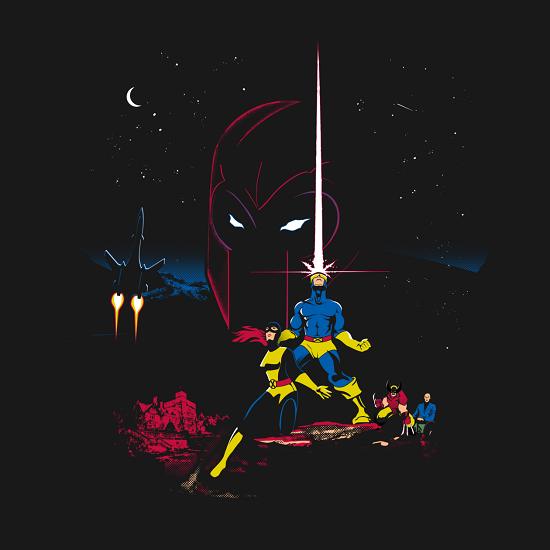 X-Men Mutant Wars Shirt
