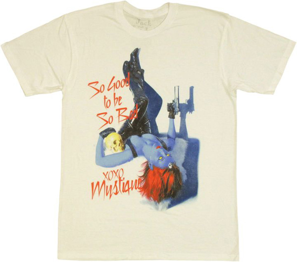 X-Men Mystique Pin-Up T-Shirt
