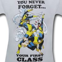 X-Men Never Forget First Class Shirt