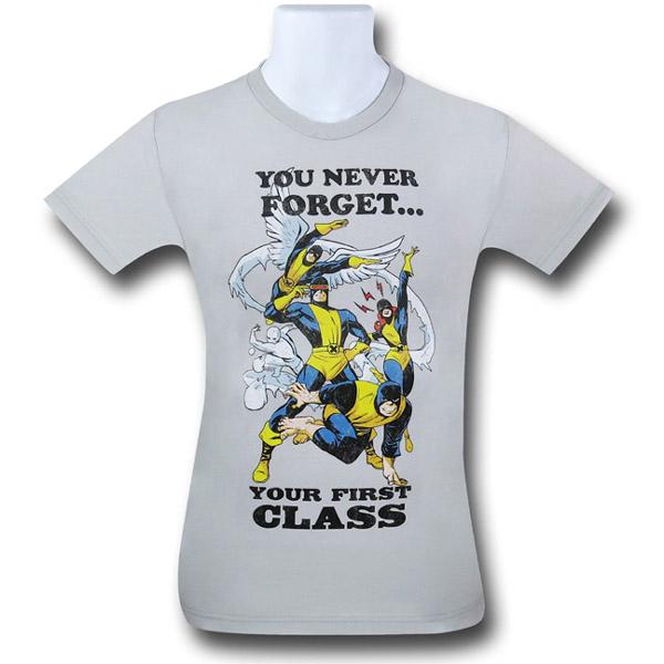 X-Men Never Forget First Class T-Shirt