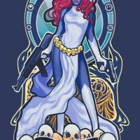 X-Men Raven Darkholme Mystique Babydoll T-Shirt