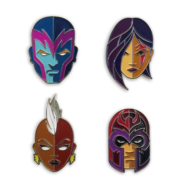 X-Men The Four Horsemen 4-Pin Set