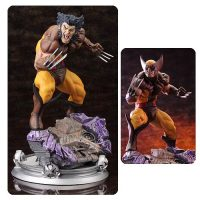 X-Men Wolverine Brown Costume Danger Room Sessions Fine Art Statue