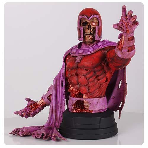 X-Men Zombie Magneto Marvel Villains Mini-Bust