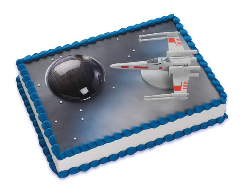 Star Wars X Wing Cake Topper