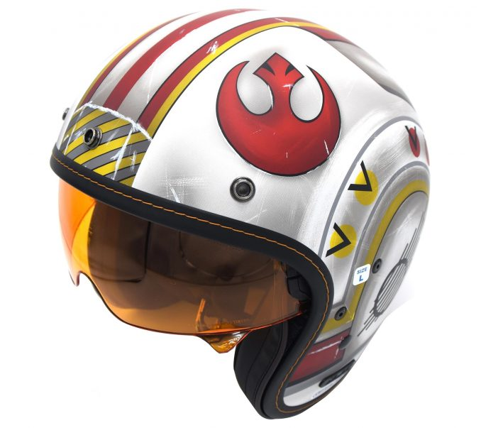X-Wing Fighter Pilot Motorcycle Helmet
