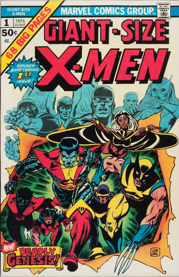 XMen Giant Size Wall Art