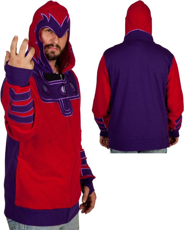 XMen Magneto Costume Hoodie