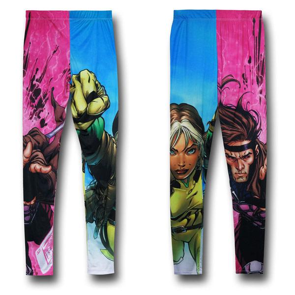 XMen Rogue & Gambit Leggings