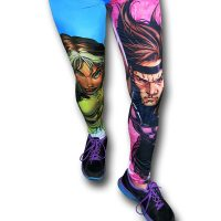 XMen Rogue and Gambit Leggings