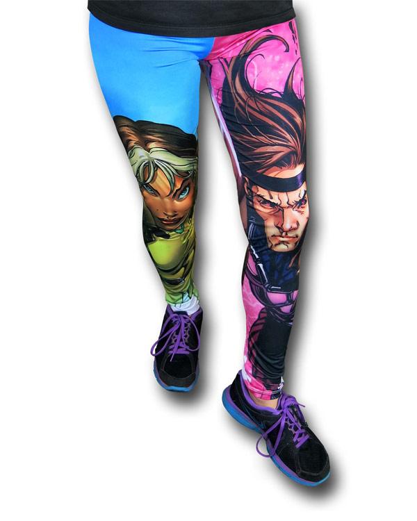 XMen Rogue and Gambit Leggings