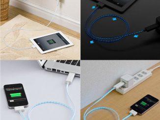 Xenon LED Light USB Recharging Cable