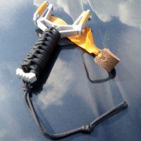 Y-Fork Pocket Slingshot