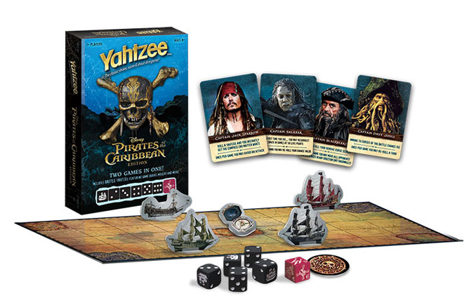YAHTZEE Pirates of the Caribbean Edition