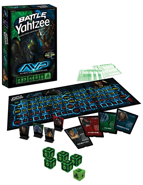 Yahtzee Character Design : Alien vs predator battle yahtzee game