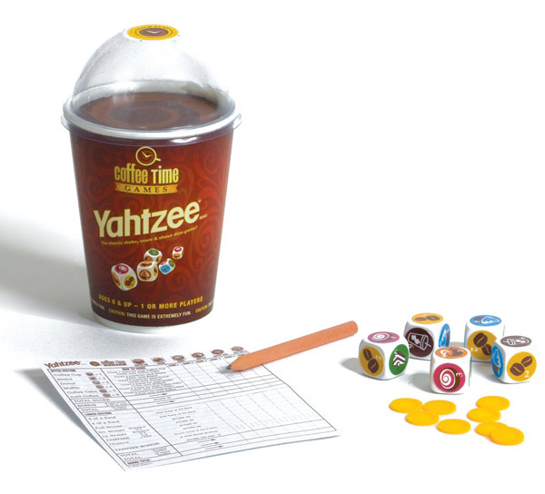Yahtzee Coffee Time Game