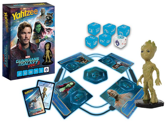 Yahtzee Guardians of the Galaxy Vol. 2