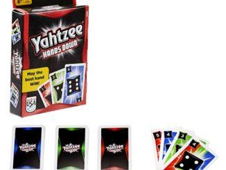 Yahtzee Hands Down Card Game