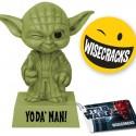 Yoda' Man Wacky Wisecracks Bobblehead