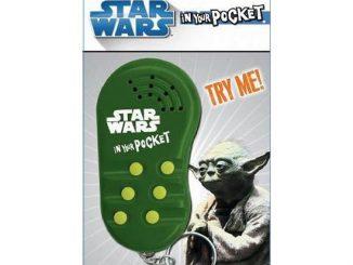 Yoda In Your Pocket Talking Keychain