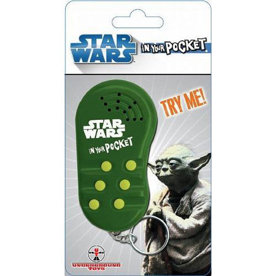 Yoda In Your Pocket Talking Keychain