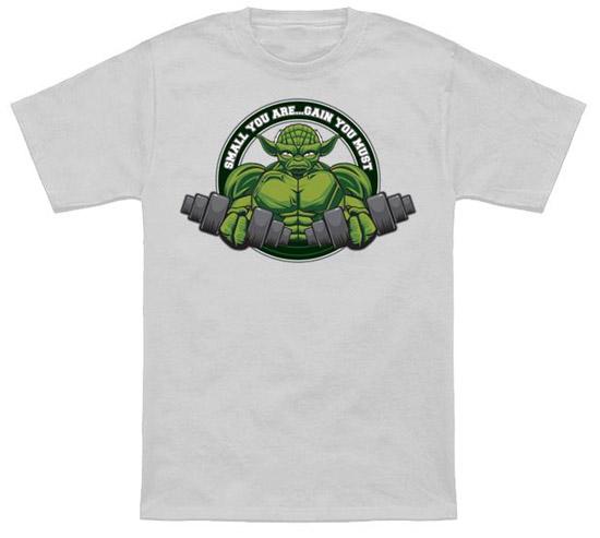 Yoda Small You Are Gain You Must Shirt