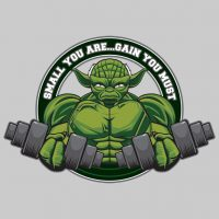 Yoda Small You Are Gain You Must T-Shirt