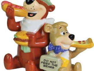 Yogi and Boo-Boo Salt & Pepper Shakers