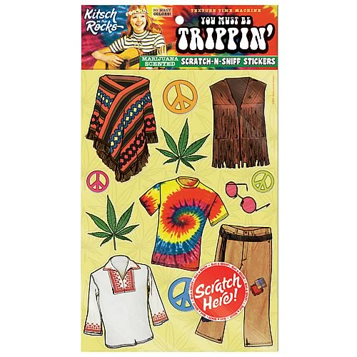You Must Be Trippin Scratch-n-Sniff Sticker Pack