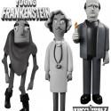 Young Frankenstein Vinyl Idolz Figures