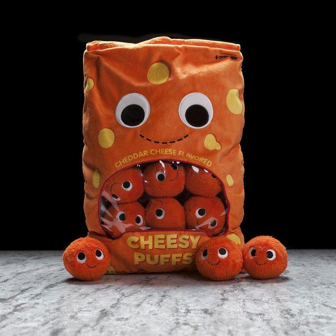 Yummy World XL Cheesy Puffs Plush