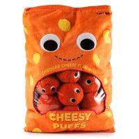 Yummy World XL Cheesy Puffs Plush Toy