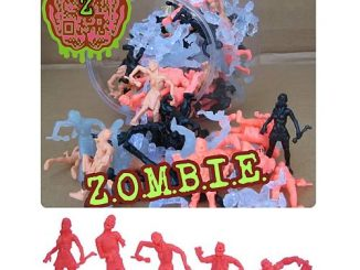 ZOMBIE Mini-Figures 100-Figure Jar