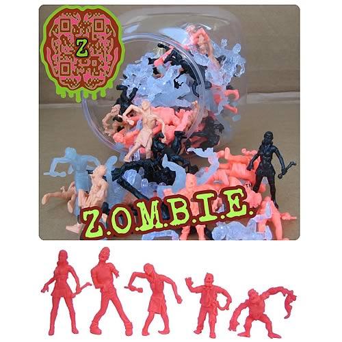 ZOMBIE Mini-Figures 100-Figure Jar
