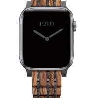 Zebrawood Sandalwood Apple Watch Band