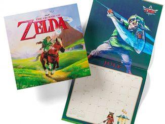 Zelda 2015 Calendar