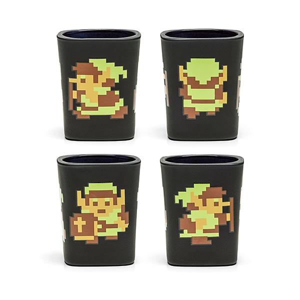 Zelda 8 Bit Shot Glass