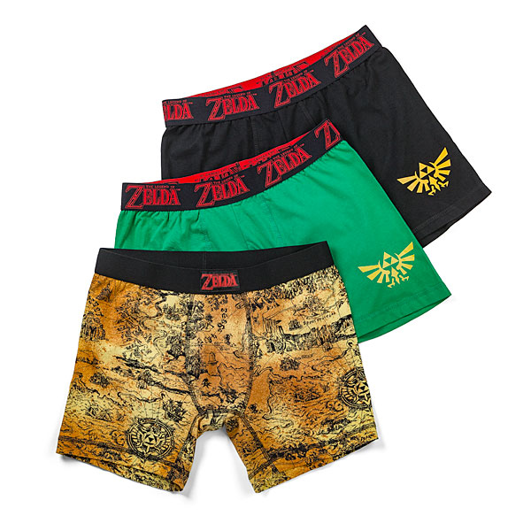 Zelda Boxer Briefs 3-Pack