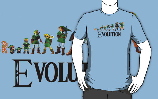 Zelda Evolution T-Shirt