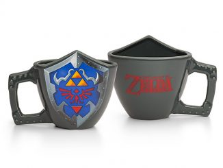 Zelda Shield Mug