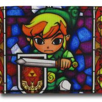 Zelda Stained Glass Link Wallet