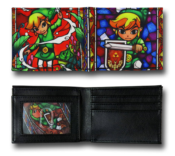 Zelda Stained Glass Wallet