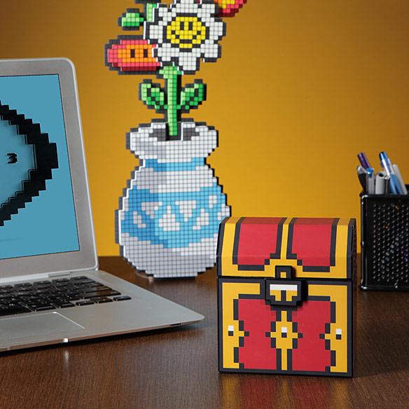 Zelda Styled 8 Bit Treasure Chest