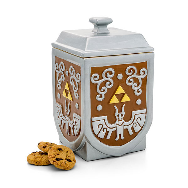 Zelda Triforce Cookie Container