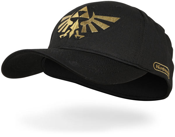 Zelda Triforce Fitted Baseball Cap