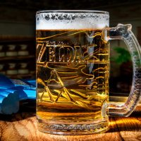 Zelda Triforce Glass Tankard