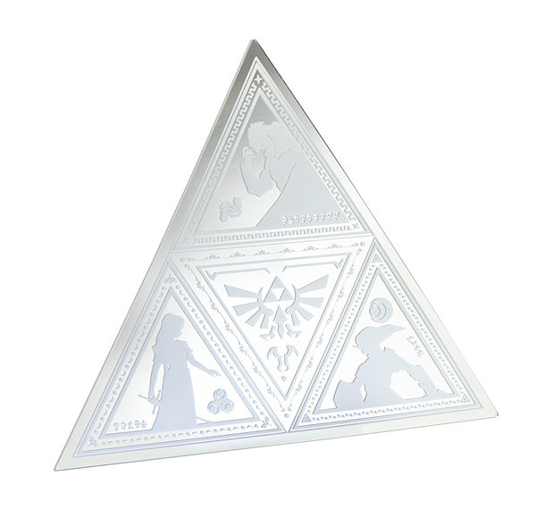 Zelda Triforce Mirror