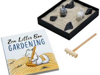 Zen Garden Kitty Litter Box
