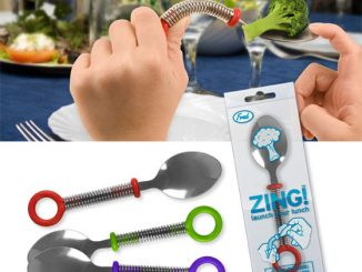 Zing Lunch Launching Catapult Spoon