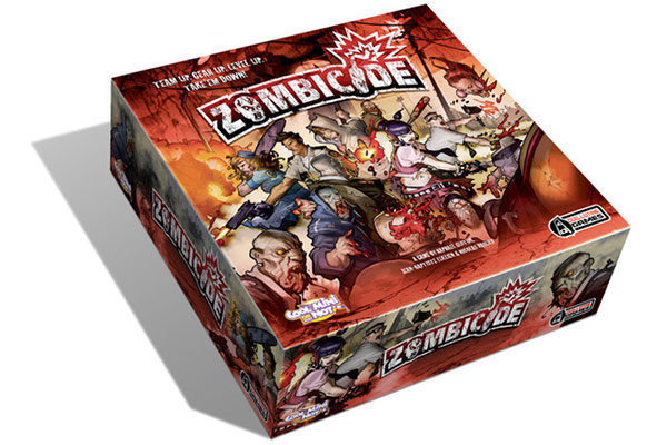 Zombicide Base Strategy Board Game